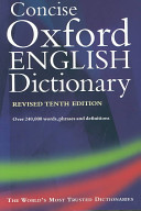 The Concise Oxford English Dictionary Book PDF