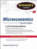 Schaum s Outline of Microeconomics  Fourth Edition