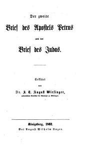 Der zweite Brief des Apostels Petrus und der Brief des Judas