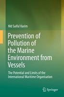 Prevention of Pollution of the Marine Environment from Vessels PDF
