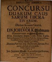 Disputatio iuridica de concursu duarum caussarum lucrativarum