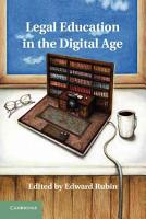 Legal Education in the Digital Age PDF