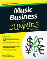 Music Business For Dummies PDF
