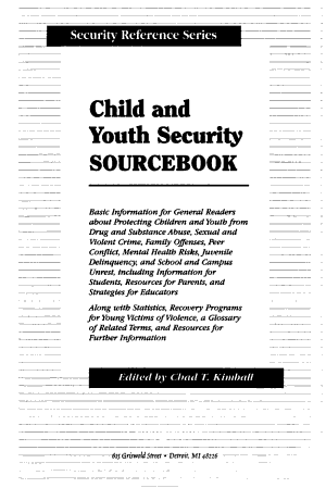 Child and Youth Security Sourcebook PDF