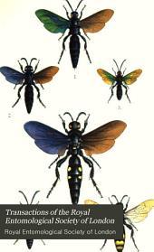 Transactions of the Royal Entomological Society of London: Volume 37; Volume 1889