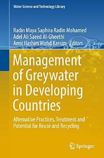 Management of Greywater in Developing Countries Book