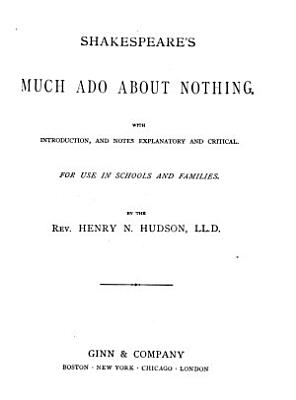 Shakespeare s Much Ado about Nothing