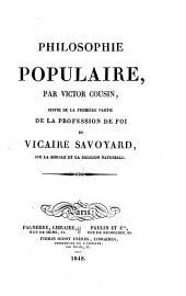 Philosophie populaire