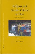 Tibet  Past and Present  Religion and secular culture in Tibet PDF