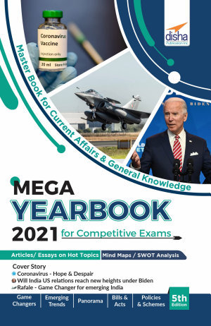 The Mega Yearbook 2021 for Competitive Exams   6th Edition