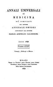 Annali universali di medicina: Volume 125