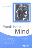 Words in the Mind PDF
