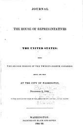 Journal of the House of Representatives of the United States: Volume 28, Issue 2