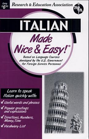 Italian Made Nice and Easy PDF