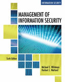 Management of Information Security   Mindtap Information Security  1 Term 6 Months Printed Access Card PDF