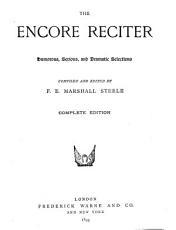 The Encore Reciter