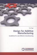 Design for Additive Manufacturing