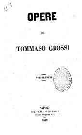 Opere complete di Tommaso Grossi