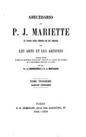 Archives de l'art français: recueil de documents inédits relatifs à l'histoire des arts en France, Volume3;Volume6