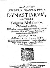 Historia Compendiosa Dynastiarum: المجلد 2