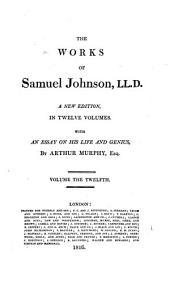 The Works of Samuel Johnson: Volume 12