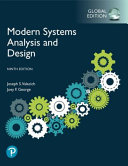 MODERN SYSTEMS ANALYSIS AND DESIGN  GLOBAL EDITION  PDF