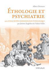 Ethologie et psychiatrie: Troubles mentaux et théorie évolutionniste
