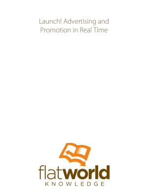 Launch  Advertising and Promotion in Real Time