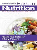 Fundamentals of Human Nutrition E Book PDF