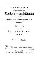 Leben und Thaten des scharfsinnigen Edlen Don Quixote von la Mancha PDF
