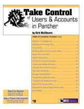 Take Control of Users & Accounts in Panther