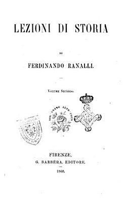 Lezioni di storia di Ferdinando Ranalli PDF