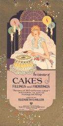 The Calendar of Cakes  Fillings and Frostings PDF