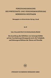 Die Auswirkung des Schlichtens von Leinengarnketten auf den Verarbeitungswirkungsgrad, sowie die Festigkeits- und Dehnungsverhältnisse der Garne und Gewebe
