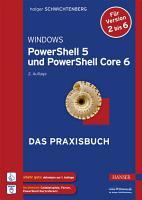 Windows PowerShell 5 und PowerShell Core 6 PDF