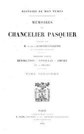 Histoire de mon temps: 1814-1815. 2. ptie. Restauration: t.4 1815-1820