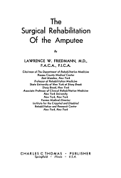 The Surgical Rehabilitation of the Amputee PDF