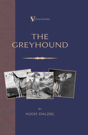 The Greyhound  Breeding  Coursing  Racing  etc   a Vintage Dog Books Breed Classic