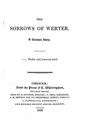 The sorrows of Werter: A German story