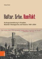 Kultur  Erbe  Konflikt PDF