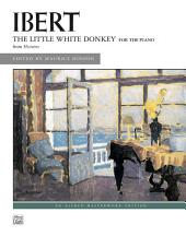 The Little White Donkey: Late Intermediate Piano Solo