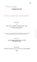 Rerum Britannicarum Medii Aevi Scriptores PDF
