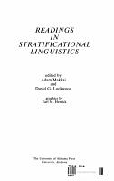 Readings in Stratificational Linguistics PDF