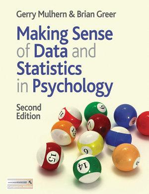 Making Sense of Data and Statistics in Psychology PDF