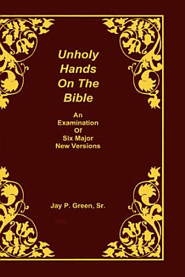 Unholy Hands on the Bible PDF