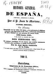 Historia general de España: Volumen 2