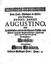 Ausgemachter Schlüssel zu dem geistlichen Kartenspiel: D. i. Ausgemachte Predigten : Nebst Festivale hiezu. Temp. - 12 Bl., 472 S., 10 Bl