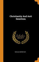 Christianity and Anti Semitism