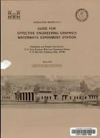 Guide for Effective Engineering Graphics  Waterways Experiment Station PDF