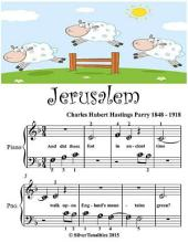 Jerusalem - Beginner Tots Piano Sheet Music